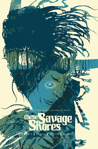 THESE SAVAGE SHORES #2 (3RD PTG) (MR)
