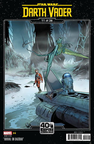 STAR WARS DARTH VADER #4 SPROUSE EMPIRE STRIKES BACK VAR