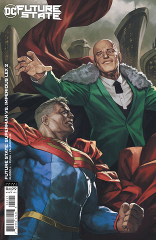 FUTURE STATE SUPERMAN VS IMPERIOUS LEX #2 CARDSTOCK VAR ED