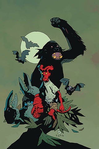 YOUNG HELLBOY THE HIDDEN LAND #1 (OF 4) CVR B MIGNOLA VAR