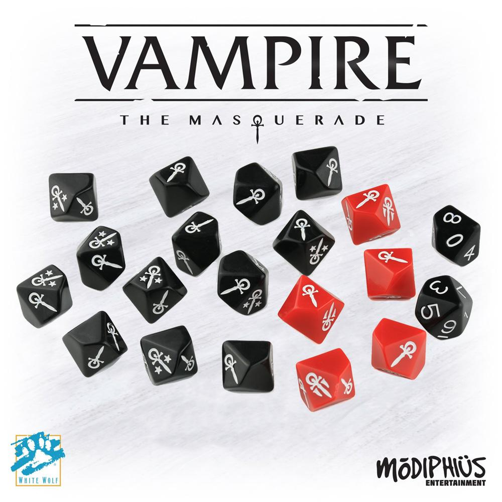 VAMPIRE: THE MASQUERADE, DICE SET