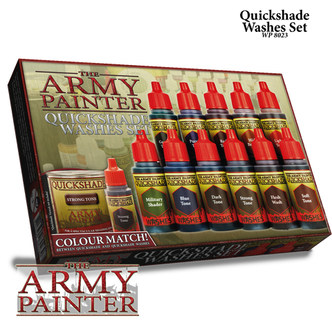 Army Painter: Quickshades Washes Set