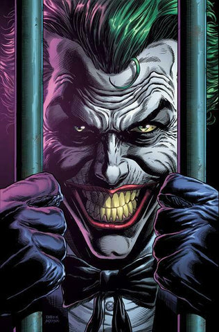 BATMAN THREE JOKERS #2 (OF 3) Premium Cover D - Behind Bars