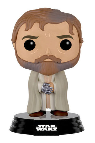 Star Wars Episode VII POP! Vinyl Bobble-Head Figure Bearded Luke Skywalker