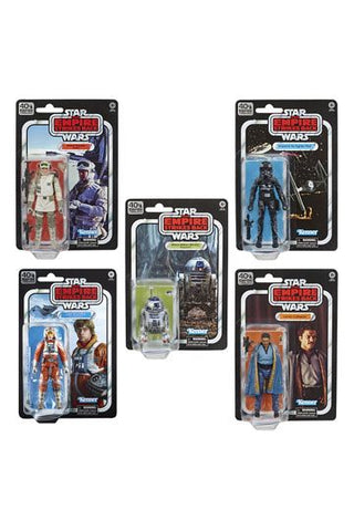 Star Wars Episode V Black Series Action Figures 15 cm 40th Anniversary 2020 Wave 2 Assortment