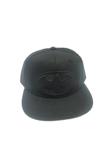 Batman Snap Back Cap Black Logo