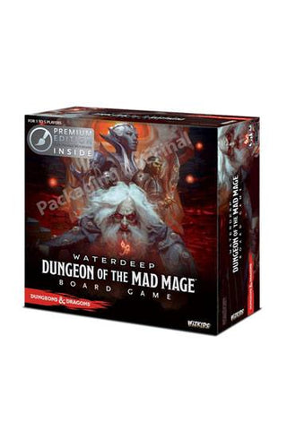 D&D: WATERDEEP – DUNGEON OF THE MAD MAGE BOARD GAME (PREMIUM EDITION)