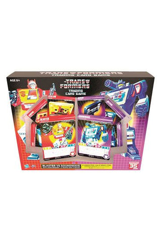 Transformers TCG Blaster vs Soundwave Deck 35th Anniversary Edition