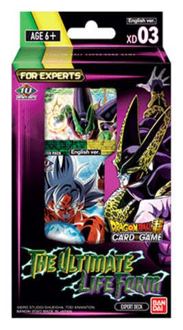 DRAGONBALL SUPER CARD GAME - THE ULTIMATE LIFE FORM Expert Deck