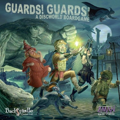 Terry Pratchett Guards! Guards! Boardgame