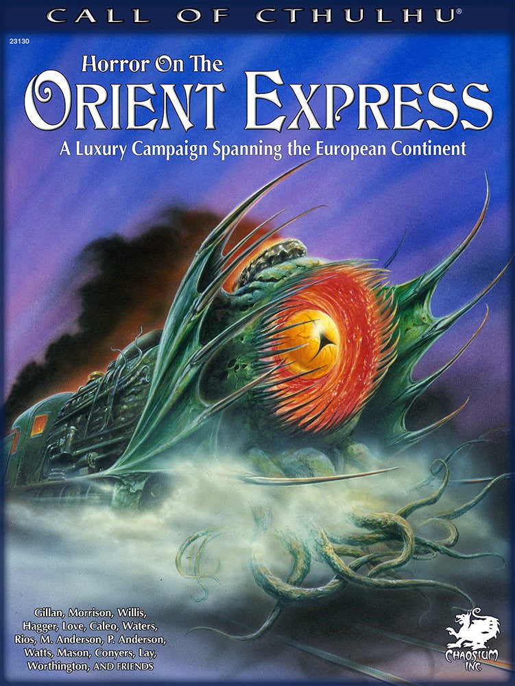 Call Of Cthulu: Horror On The Orient Express