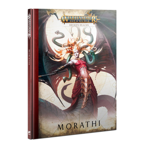 Warhammer Age of sigmar: Morathi Broken Realms book
