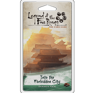 Into The Forbidden City Expansion Pack - Legend of the Five Rings L5R LCG