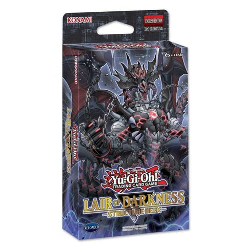 YGO: Lair Of Darkness Structure Deck