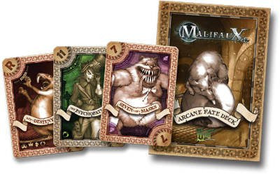 Malifaux: Archane Fate Deck - White