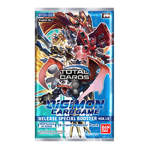 Digimon Card Game: Release Special Booster Ver.1.5 Packs