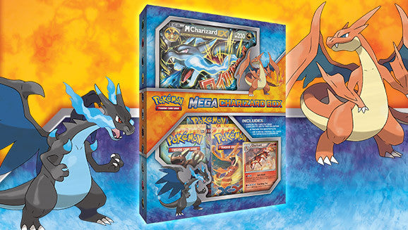 Pokemon TCG: Mega Charizard Box
