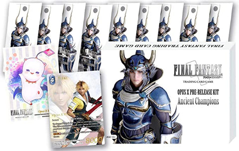 Final Fantasy TCG Opus 10 X Pre Release Kit