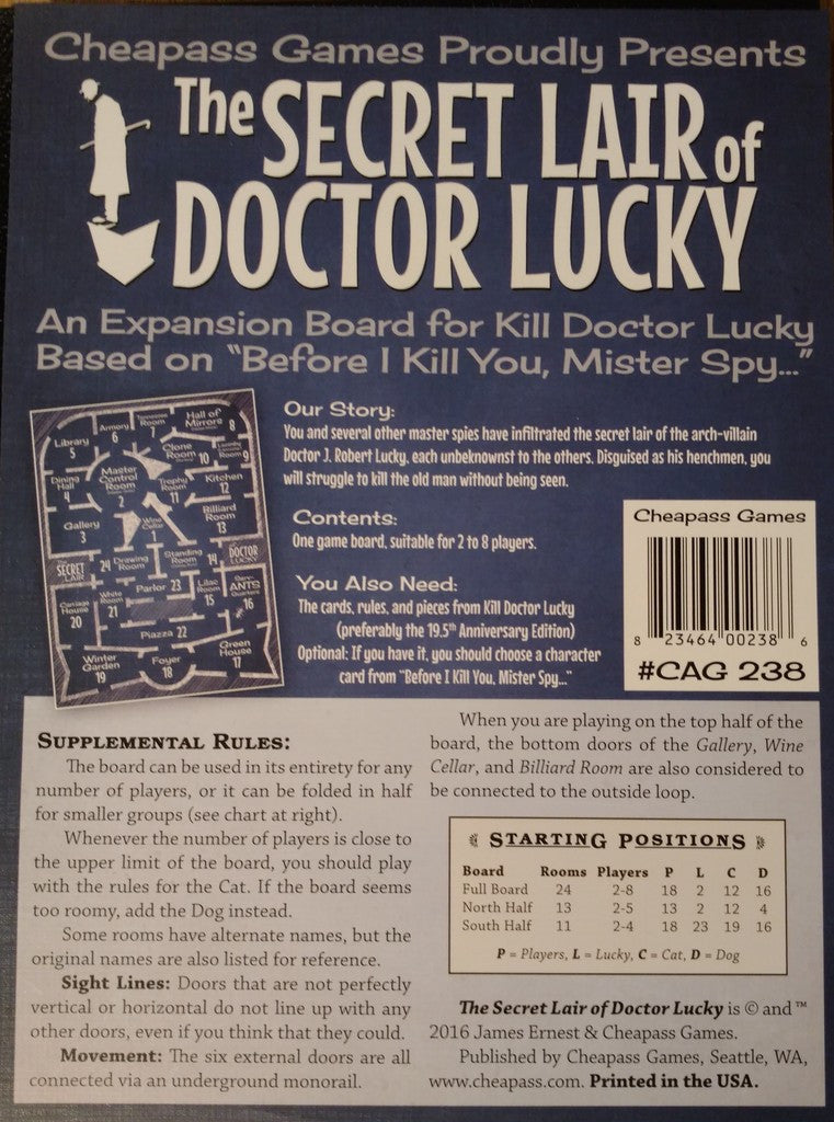 Secret Lair of Doctor Lucky: Kill  Doctor Lucky Exp