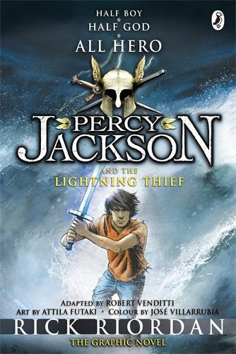 Percy Jackson And The Lightning Thief: Graphic Novel