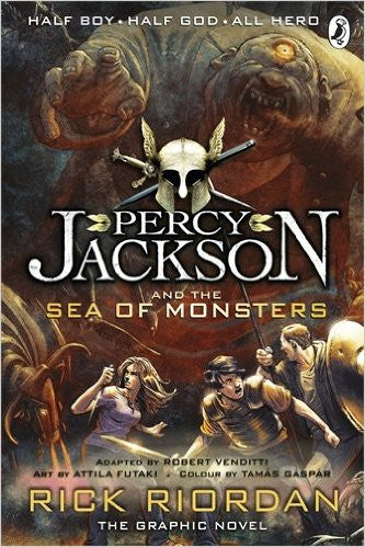 Percy Jackson And The Sea Of Monsters: Graphic Novel
