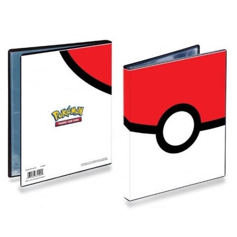 4-Pocket Pokemon Pokeball Collector's Portfolio A5