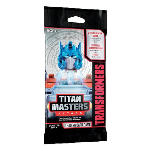 Transformers TCG - 'TITAN MASTERS ATTACK' BOOSTER
