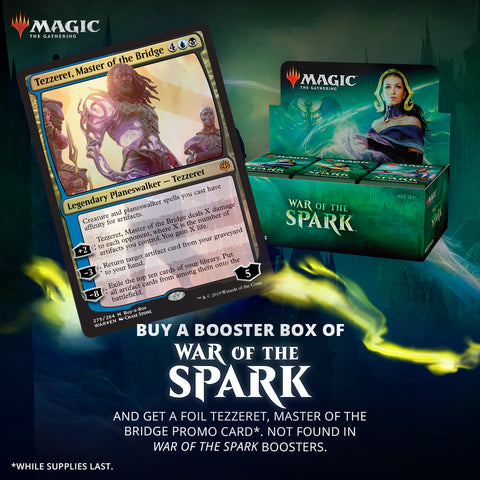 MTG: War Of The Spark Buy-A-Box Preorder