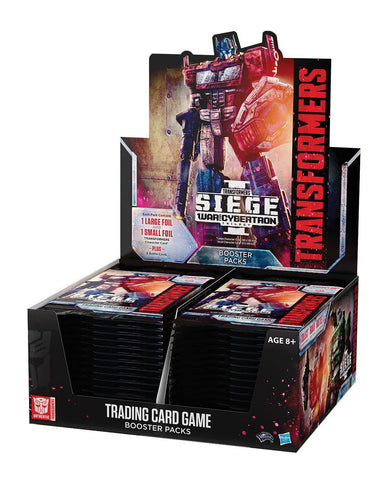 Transformers TCG War for Cybertron Siege - Booster Box Pre-Order