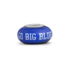 Kentucky Collegiate Blue Glass Bead - Fenton Glass Jewelry - 1