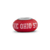 The Ohio State Collegiate Red Glass Bead - Fenton Glass Jewelry - 1
