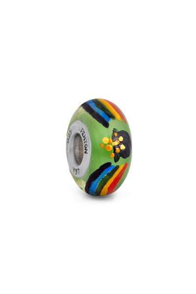 """Over The Rainbow"" Hand Painted Bead"