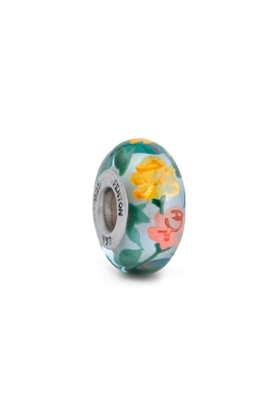 """Bloom in Grace"" Hand Painted Bead"