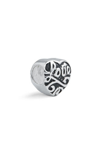 """Big Love"" Spacer Charm"