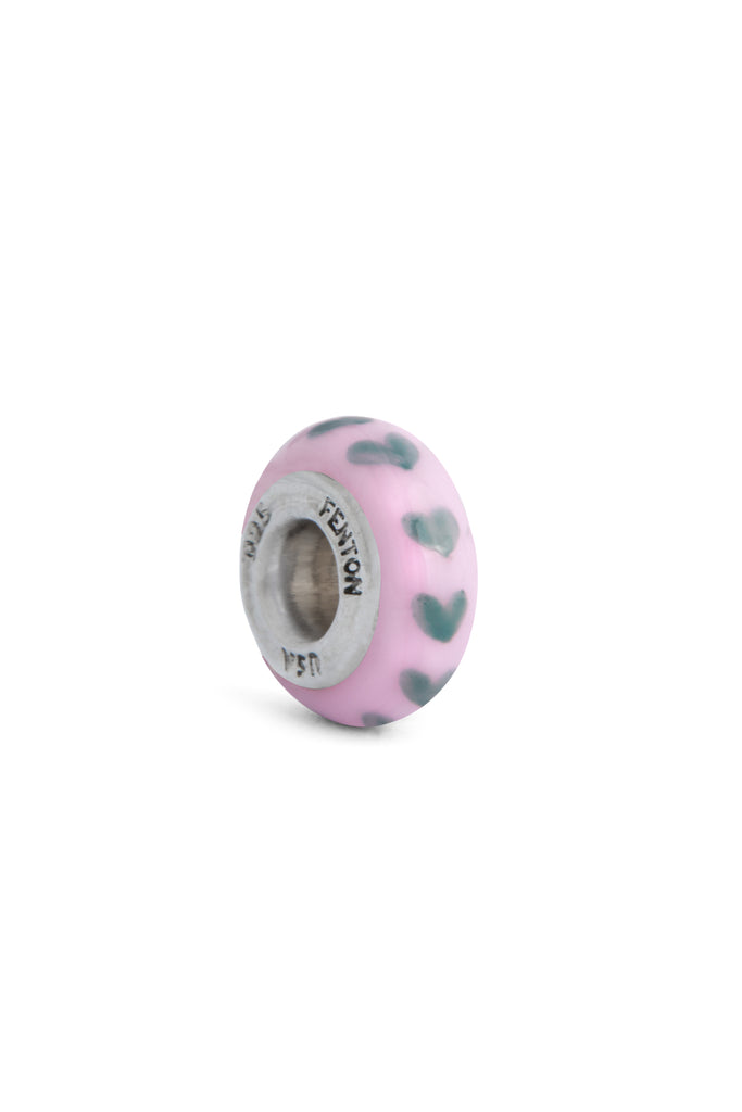 """Be Mine"" Hand Painted Spacer Bead"