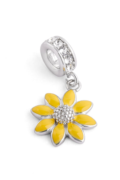 """Daisy"" Dangling Spacer Charm"