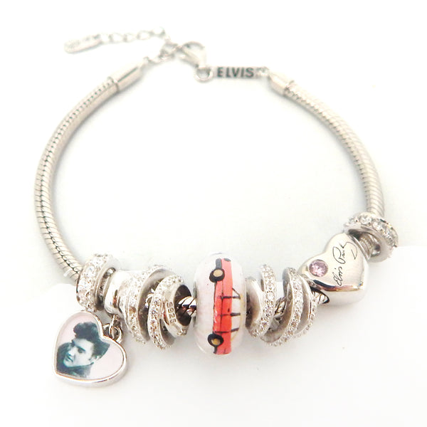 Elvis Cadillac Hearts Bracelet Bundle