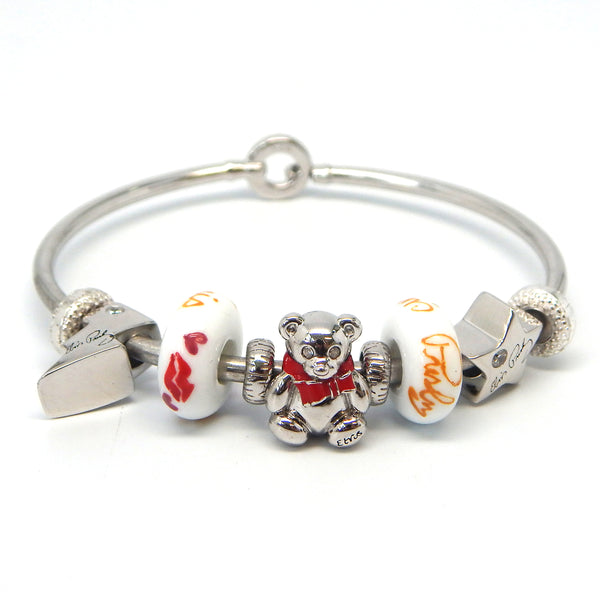 Elvis Teddy Heartthrob Bracelet Bundle