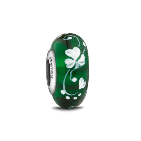 """An Irish Blessing"" Hand Decorated Glass Bead"
