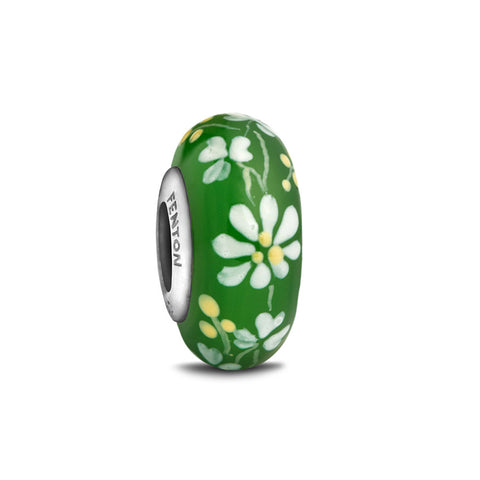 """An Irish Girl"" Hand Decorated Glass Bead"