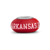 Arkansas Collegiate Red Glass Bead - Fenton Glass Jewelry - 1