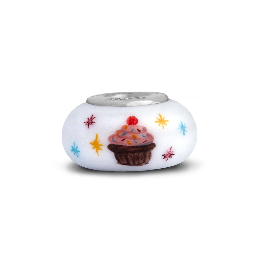 """Birthday Cupcake"" Celebration Bead"