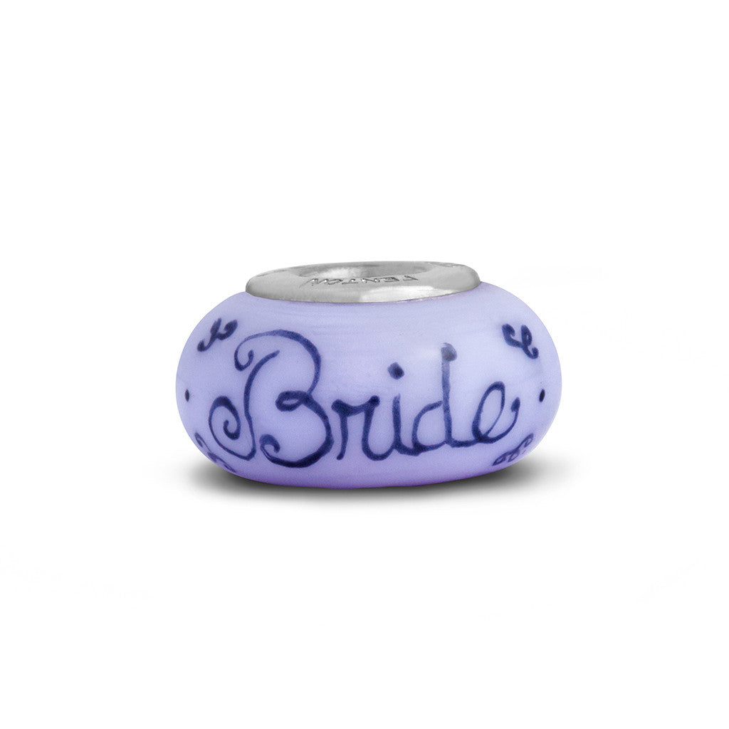 """Blushing Bride"" Celebration Bead"