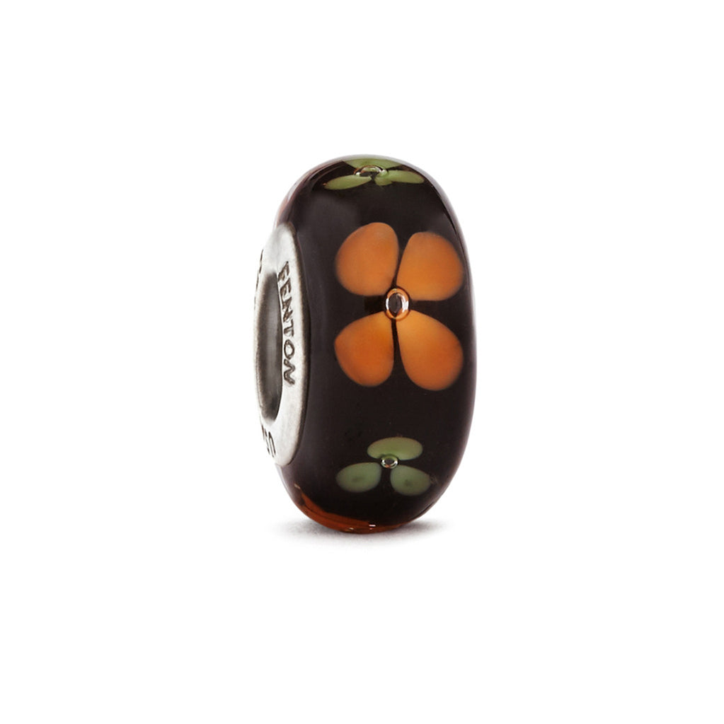"""Butterfly Blossoms"" Glass Crafted Bead - Fenton Glass Jewelry"