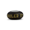 Purdue University Collegiate Black Glass Bead - Fenton Glass Jewelry - 2