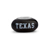 Texas Longhorns Collegiate Black Glass Bead - Fenton Glass Jewelry - 1