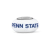 Penn State Collegiate Milk Glass Bead - Fenton Glass Jewelry - 1