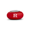 Rutgers Collegiate Red Glass Bead - Fenton Glass Jewelry - 2