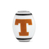 Texas Longhorns Collegiate Milk Glass Cornerstone Bead - Fenton Glass Jewelry - 2