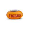 Clemson Collegiate Orange Glass Bead - Fenton Glass Jewelry - 2